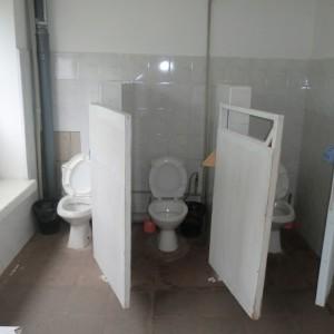 Туалетна кімната на поверсі спасльного корпусу  №№ 1,2