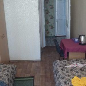 кімната на 3-4 особи 1,2 корпус (ліва сторона)